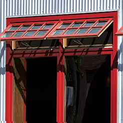 Storm Frame Windows Crank Awning Windows