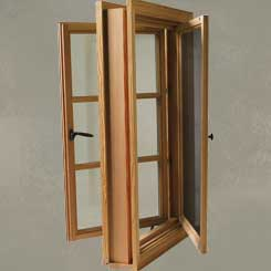 storm frame windows push casement windows