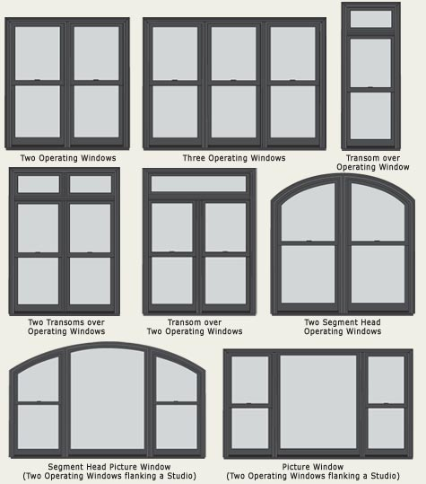 Storm Frame Windows Double Hung Windows